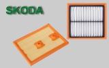 Фильтр двигателя воздушный Skoda