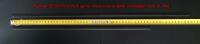 """Резинки БЕСКАРКАСНЫХ щеток стеклоочистителей Volkswagen Golf VI, Mk6  (24""""-600 + 19""""-475)"""